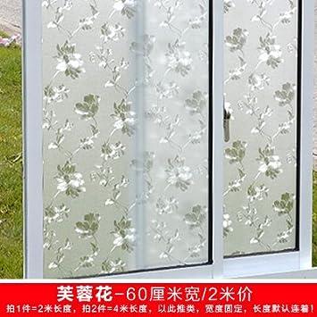 XI.W.H Statische Fenster Glas Aufkleber Bad durchscheinend ...