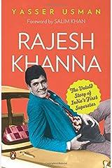 Rajesh Khanna : The Fallen Superstar by Yasser Usman(2014-12-31) Paperback
