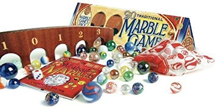 House of Marbles Marble Games Pack   Triangular