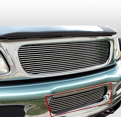 ZMAUTOPARTS Bumper Billet Grille Grill Insert For 1997-1998 Ford Expedition/F-150 4WD ()