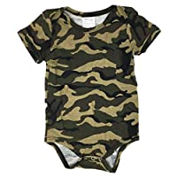 Newborn Camouflage Baby Bodysuit Multiple Sizes / Colors / Onesie (X Small (0...