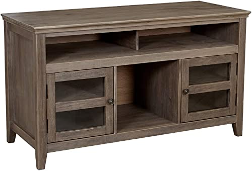 Amazon Brand Ravenna Home Classic Solid Wood Media Center