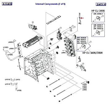 rc1 7544 000cn hewlett packard hp printer miscellaneous parts at rh amazon com