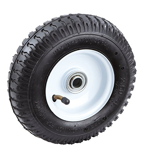 Tricam-Farm-and-Ranch-FR2000-Pneumatic-Replacement-Turf-Tire-for-Hand-Trucks-and-Lawn-Carts