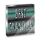 Best Grandma Admiration Respect Acrylic Office Mini Desk Plaque Ornament Paperweight