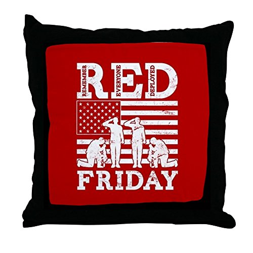 (CafePress - Red Friday Flag Soldiers - Decor Throw Pillow (18
