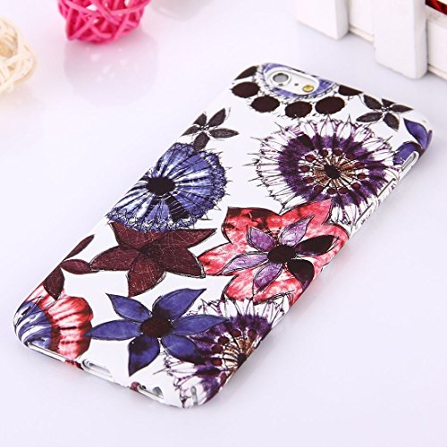 Phone Taschen & Schalen Für iPhone 6 Plus & 6s Plus National Style Blumenmuster PC Schutzhülle ( SKU : IP6P1068K )