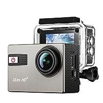 Victsing Videocamera Azione con Risoluzione 4K