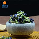 CHIY-GBC Ltd Chinese tasty snack, tea ceremony 500g organic Butterfly pea flower herb tea&Butterfly pea tea&Dried Clitoria kordofan pea flower tea