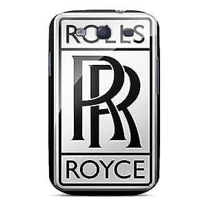 New Rolls Royce Logo Tpu Case Cover, Anti-scratch Little NiZi Phone Case For Galaxy S3