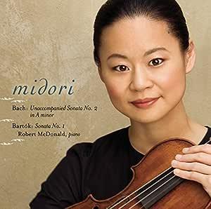 Bach: Violin Sonata No. 2 in A Minor, BWV 1003 - Bartók: Violin Sonata No. 1, Sz. 75