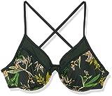 Body Glove Women's Solo Underwire D, DD, E, F Cup Bikini Top Swimsuit, Guava Tropix