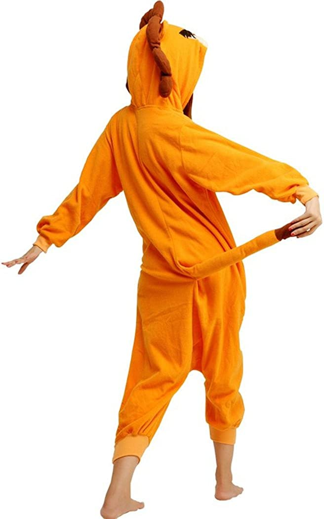 wotogold Pigiama di Leone Animale Costumi Cosplay per Adulti Unisex