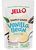 JELL-O Simply Good Vanilla Bean Instant Pudding Mix 3.4 oz. (Pack of 4)