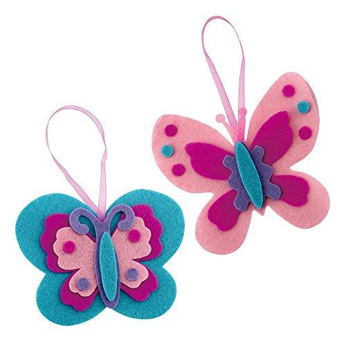 Make Your Own Felt Butterfly Ornament Kit