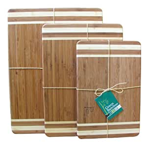 Green Bamboo 14 x 10 Inch Cutting Board