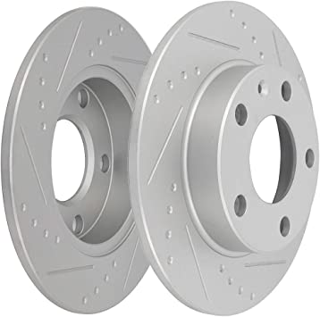 Front And Rear Brake Rotors For Ford Five Hundred Freestyle Taurus Montego Sable