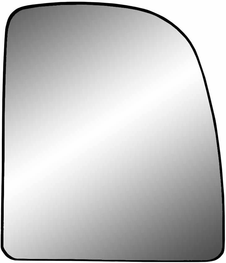 Fit System 80237 Ford Right Side Manual/Power Replacement Mirror Glass with Backing Plate