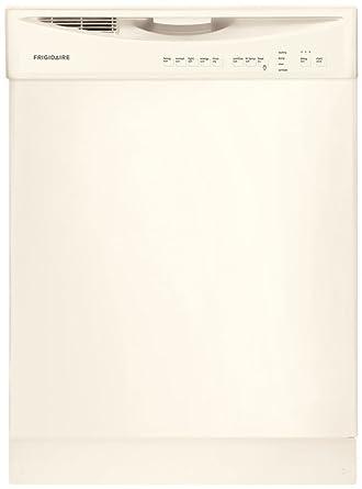 amazon com frigidaire ffbd2411nq 24 bisque full console dishwasher