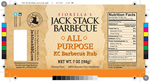 Jack Stack Sauce & Rub Four Pack Gift Set