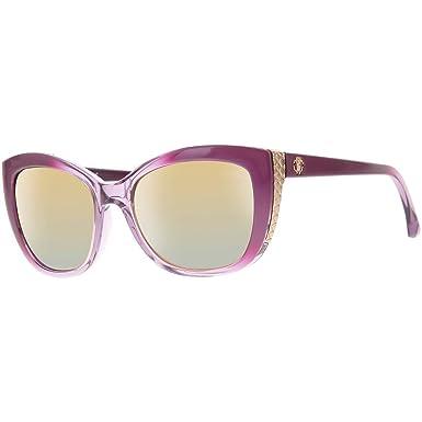 1fb330abf6c6 Roberto Cavalli Lunettes de soleil Pour Femme 888S - 81C  Shiny Violet    Gold