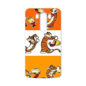 QQQO Calvin and tigger Cell Phone Case for LG G3