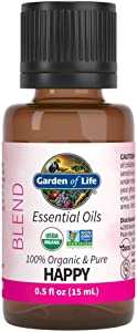 Garden of Life Organic Essential Oil, Happy Blend, 0.5 fl. oz.