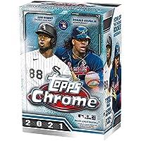 Topps 2021 Chrome Baseball Trading Cards Blaster Box