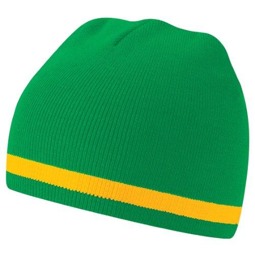 invierno banderas mundo Beanie Colores Beechfield países nacionalidades Gorro Yellow de del Green wHF7xAqOt