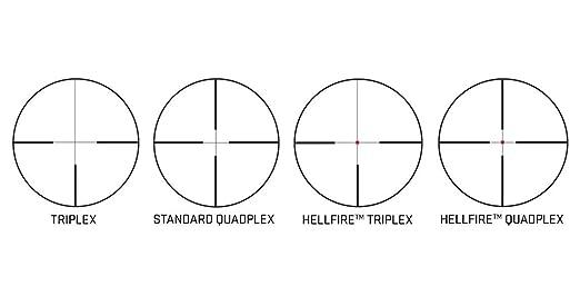 Sig Sauer Whiskey 3 3-9x40 SFP Standard Quadplex Riflescope