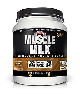 Muscle Milk Genuine Protein Powder, Chocolate, 32g Protein, 1 Pound