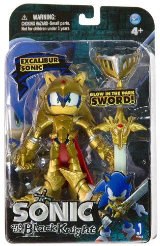 Jazwares Sonic and The Black Knight Excalibur 4 Action Figure by Jazwares