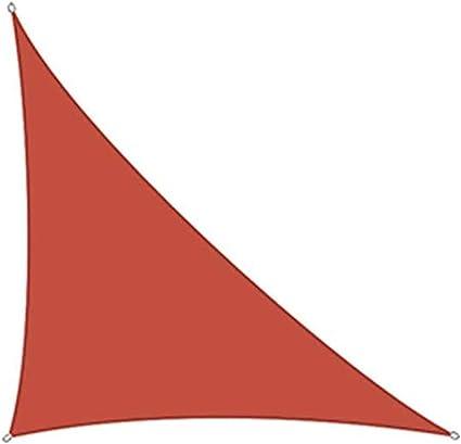RENWQ Toldo Vela De Sombra, 3x3x4.3m TriáNgulo RectáNgulo ...