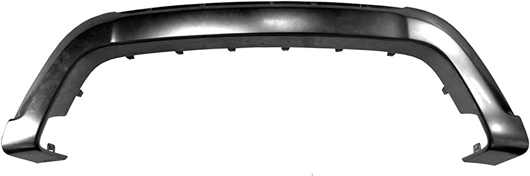 2014-2018 Dodge Journey Front Bumper Cover Molding; For Crossroad Model; Chrome; Made Of Abs Plastic Partslink CH1044129