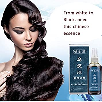 Buy Black Hair Regain Dsy White Hair Treatment Tonic 60ml Piece Extra Strength Make Hair Black Chinese Medicine No Side Effect Online At Low Prices In India Amazon In