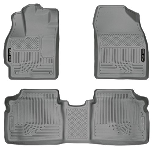 (Husky Liners Front & 2nd Seat Floor Liners Fits 12-15 Prius Two/Three/Four/Five)