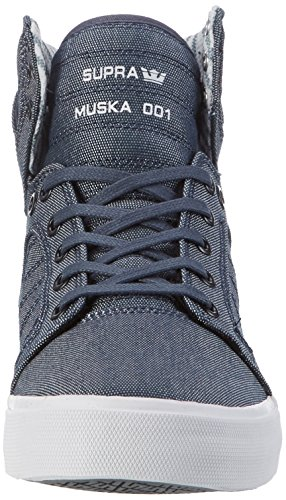 Supra Skytop Medium Sneaker Off Wit - Wit