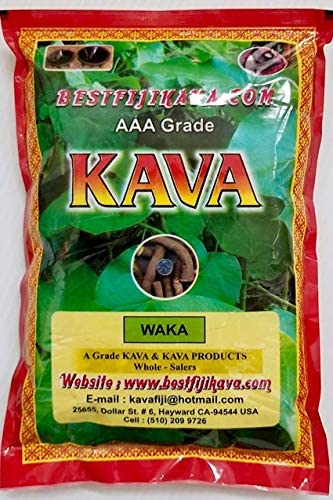 Kava Powder – AAA Grade WAKA Root – 1 LB – Noble Kava Powder All Natural Kava Root Powder Kava Kava Bestfijikava inc