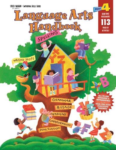 Language Arts Handbook: Reproducible Grade 4 by HARCOURT SCHOOL SUPPLY