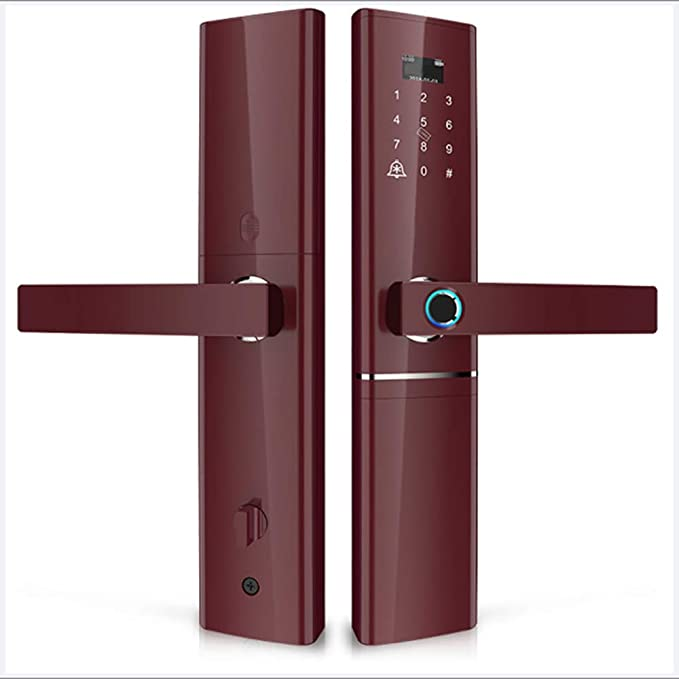 Cerradura biométrica de la huella digital cerraduras de Bluetooth ...