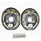 "Southwest Wheel Pair 12"" X 2"" Self-adjusting Electric Brakes with Hardware"