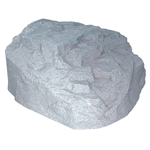 EMSCO Group Landscape Rock - Natural Granite Appearance - Low Profile Boulder - Lightweight - Easy to Install
