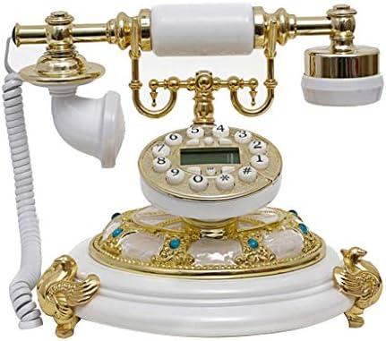 BZM-ZM ヴィンテージレトロな電話、回転ダイヤル、オフィスの電話、リビングルームの装飾