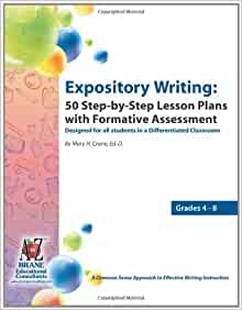 Expository writing lesson plans