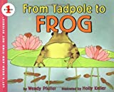 From Tadpole to Frog, Wendy Pfeffer, 0064451232