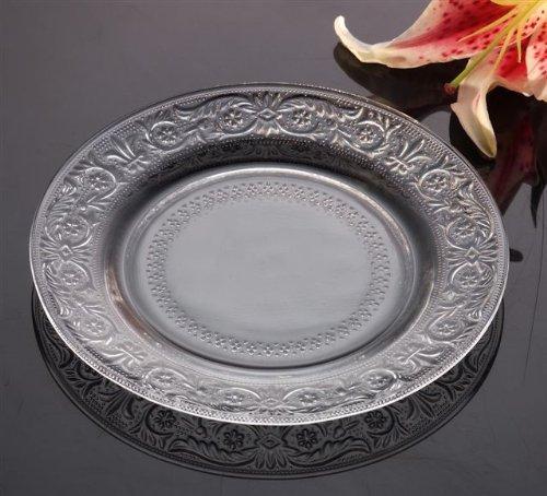 StudioSilversmiths 30001 Medium Designed Glass Plate - 7 in. COMINHKPR05195