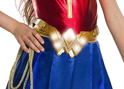 Wonder Woman Gold Belt (Rubie's Justice League Child's Wonder Woman Light-Up Costume)