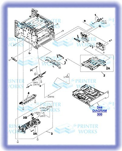 HP RM1-8610-000CN Multi-purpose/tray 1 assembly