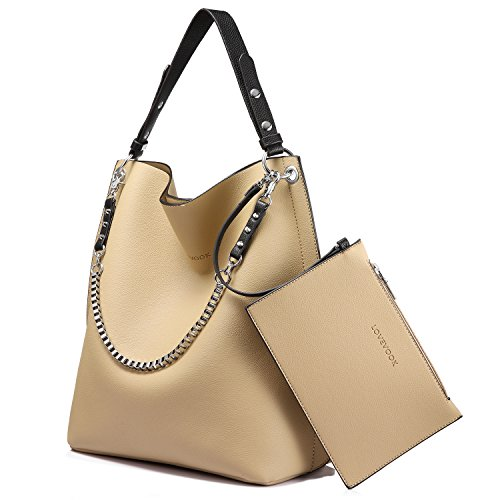 Travel Tote Top Handle Zip Handbags Satchel Top apricot Bag 3 Designer Shoulder Set Pieces Purse 3pc Bag for Bag Women rqOPrf