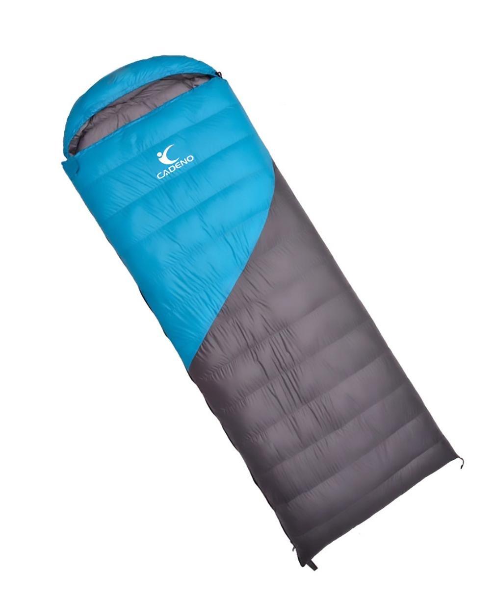 キャンプ寝袋大人用アウトドア超軽量寝袋ダウン個々Sleepingバッグ1800 g B076MQZCNB  ライトブルー
